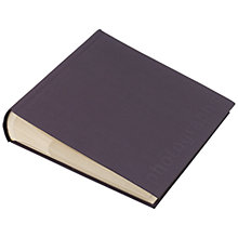 "Buy John Lewis Slip-In 6 x 4"" Photo Album, 200, Slate Online at johnlewis.com"