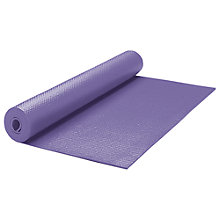 Buy Gaiam Premium Yoga Mat, Purple Online at johnlewis.com