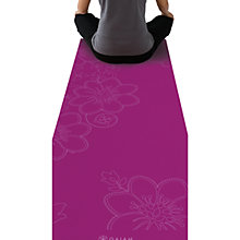 Buy Gaiam Printed Yoga Matt Bloom, Fuchsia Online at johnlewis.com