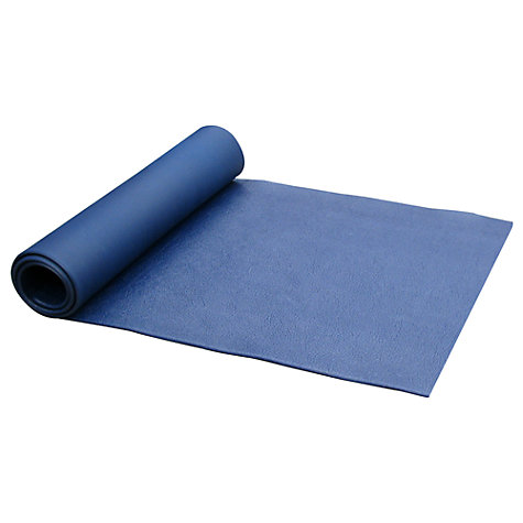 Buy Gaiam Premium Pilates Mat, Navy Online at johnlewis.com