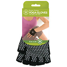 Buy Gaiam Super Grippy Yoga Gloves Online at johnlewis.com