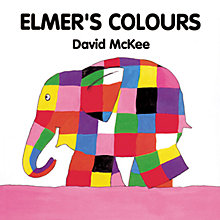 Buy Elmer's Colours Book Online at johnlewis.com