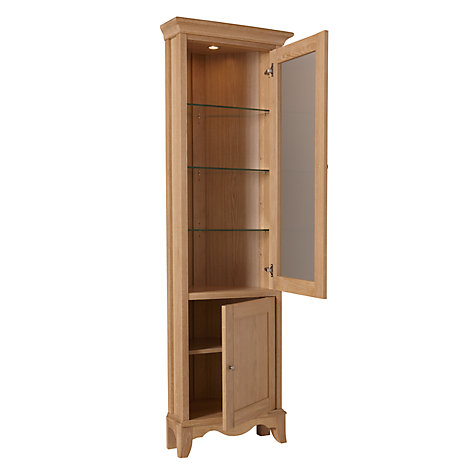 Buy John Lewis Claremont Corner Display Cabinet Online at johnlewis.com