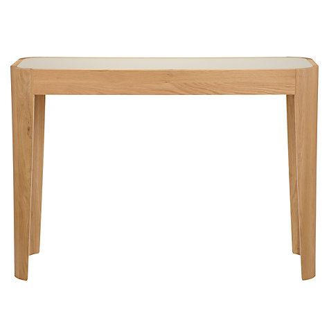 Buy John Lewis Domino Glass Top Console Table Online at johnlewis.com