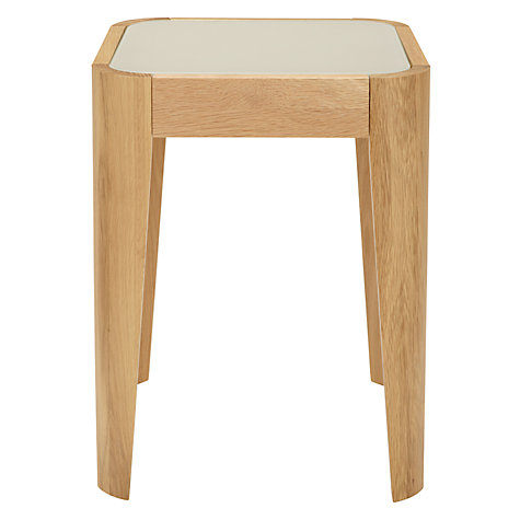 Buy John Lewis Domino Glass Top Lamp Table Online at johnlewis.com