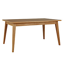 Buy House by John Lewis Stride 6-8 Seater Extending Dining Table Online at johnlewis.com