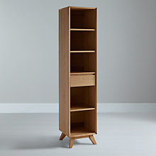 Buy House by John Lewis Stride Narrow Bookcase Online at johnlewis.com