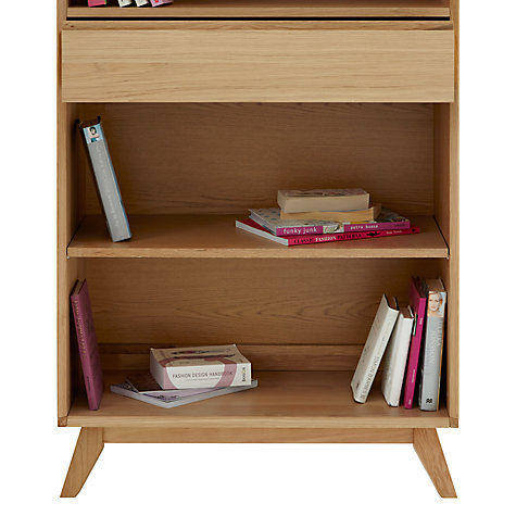 Buy House by John Lewis Stride Wide Bookcase Online at johnlewis.com