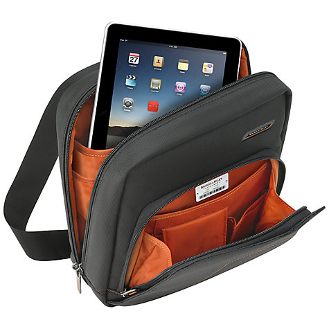 Buy Briggs & Riley Verb Slide Tech Bag, Black Online at johnlewis.com