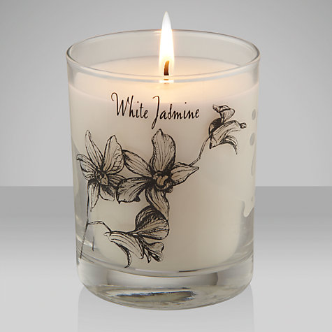 Buy Stoneglow Scented Candle in a Jar, Jasmine Online at johnlewis.com