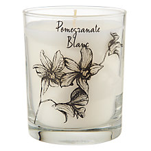 Buy Stoneglow Scented Candle in a Jar, Pomegranate Online at johnlewis.com