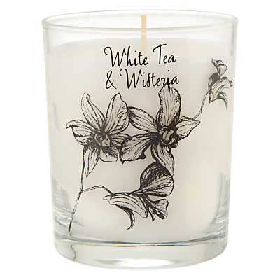 Stoneglow White Tea and Wisteria Scented Candle