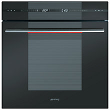 Buy Smeg SCP115A-1 Single Electric Oven, Dark Graphite Online at johnlewis.com