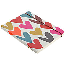 Buy Caroline Gardner Hearts Mid Notebook Online at johnlewis.com