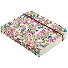 Buy Caroline Gardner Light Ditsy Chunky Notebook, Small Online at johnlewis.com