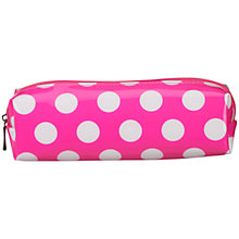 Buy John Lewis Spot Pencil Case Online at johnlewis.com