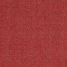 Buy John Lewis Harwood Plain Fabric, Red Online at johnlewis.com