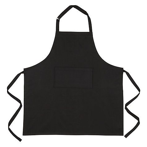 Buy John Lewis Apron, Black Online at johnlewis.com