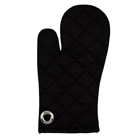 Buy John Lewis Oven Mitt, Black Online at johnlewis.com