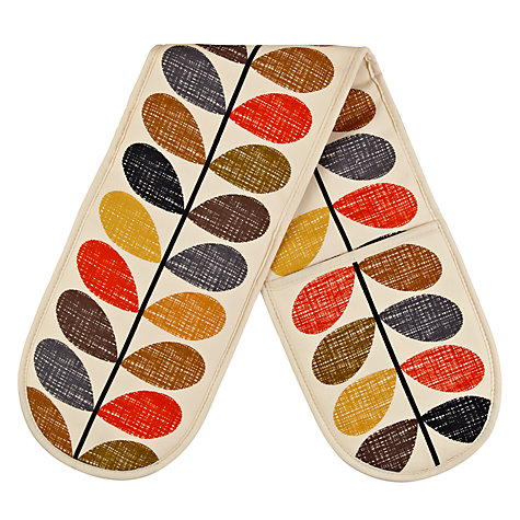 Buy Orla Kiely Multi Stem Double Oven Glove Online at johnlewis.com
