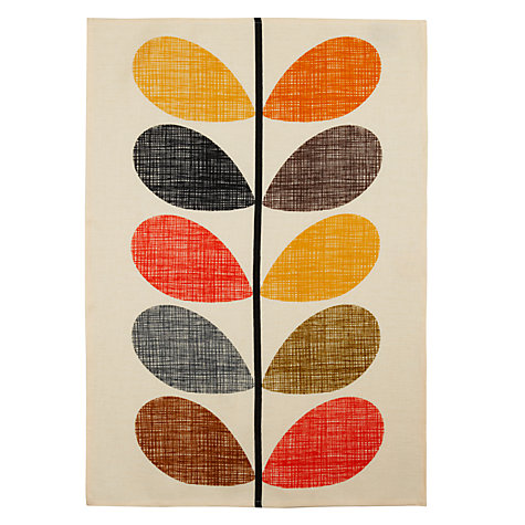 Buy Orla Kiely Multi Stem Tea Towel Online at johnlewis.com