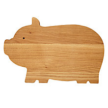 Buy John Lewis Pig Chopping Board Online at johnlewis.com