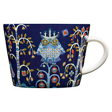 Buy Iittala Blue Taika Cappuccino Cup, 0.2L, Blue Online at johnlewis.com