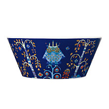 Buy Iittala Blue Taika Bowl, 0.6L Online at johnlewis.com