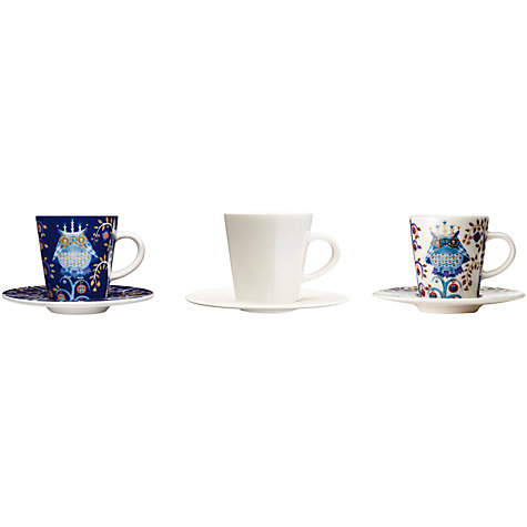 Buy Iittala Blue Taika Espresso Cup, 0.1L, Blue Online at johnlewis.com