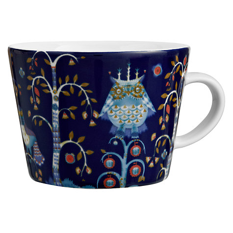 Buy Iittala Blue Taika Mug Online at johnlewis.com