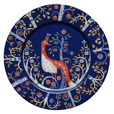 Iittala Taika Plate, Dia.22cm, Blue