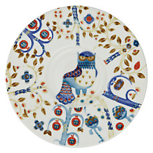 Buy Iittala White Taika Peacock 30cm Plate Online at johnlewis.com