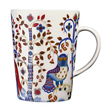 Buy Iittala White Taika Mug Online at johnlewis.com