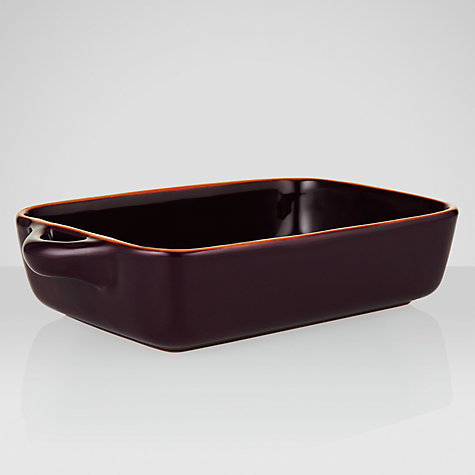 Buy John Lewis Al Fresco Med Rectangular Roasters, L25.5 x W15cm Online at johnlewis.com