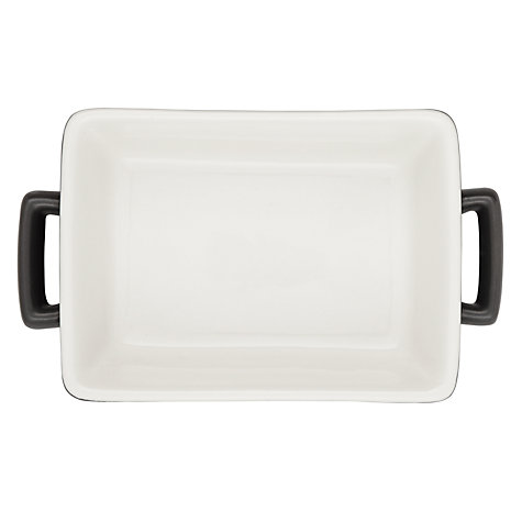 Buy House by John Lewis Ceramic Mini Roaster, L18.5 x W11cm, Steel Online at johnlewis.com