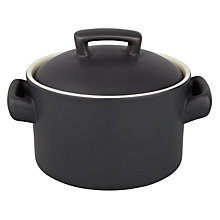 Buy House by John Lewis Ceramic Mini Casserole, W10.5cm, Steel Online at johnlewis.com