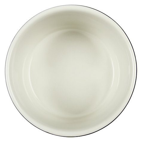 Buy House by John Lewis Ceramic Ramekin, Dia.10cm, Steel Online at johnlewis.com
