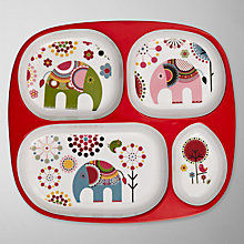 Buy little home at John Lewis Abbey The Elephant Divided Plate Online at johnlewis.com