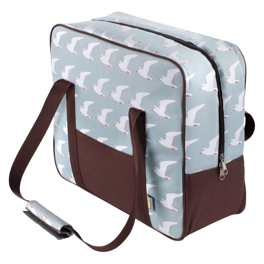 Anorak Kissing Seagulls Picnic Cool Bag
