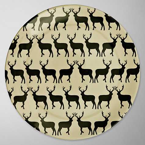 Buy Anorak Kissing Stags Plate Online at johnlewis.com