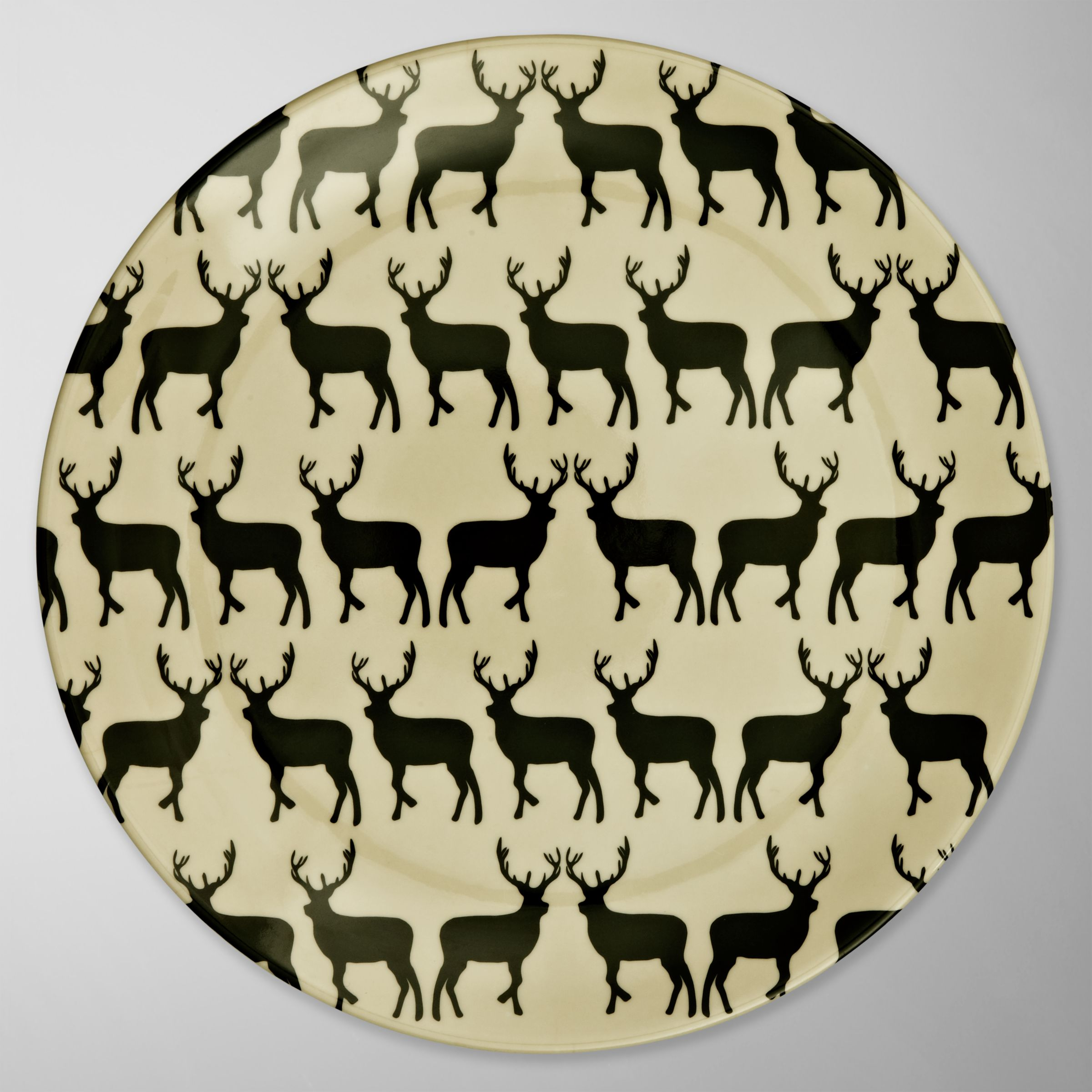 Anorak Kissing Stags Plate