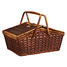 Buy John Lewis Coastal Bamboo Hamper Online at johnlewis.com