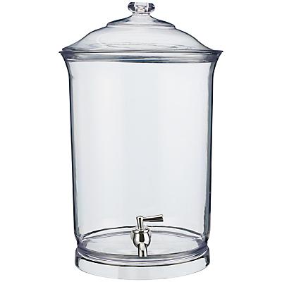 John Lewis Clear Drinks Dispenser