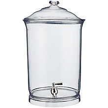 Buy John Lewis Clear Drinks Dispenser Online at johnlewis.com