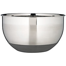 Buy John Lewis Stainless Steel Mixing Bowl, Dia.25cm Online at johnlewis.com