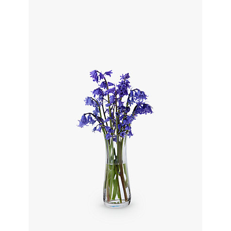 Buy Dartington Crystal Florabundance Bluebell Posy Vase Online at johnlewis.com