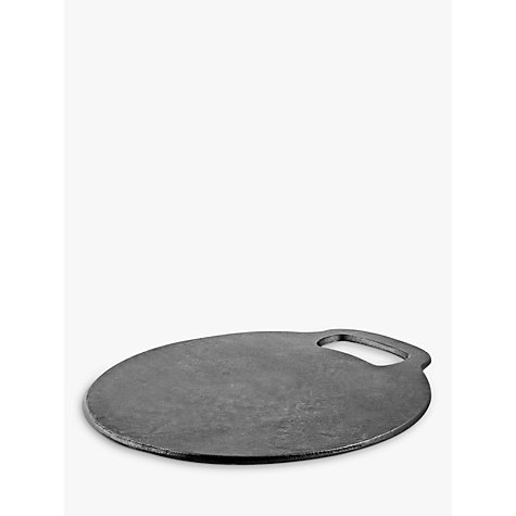 Kitchen craft cast iron baking stone dia 27cm