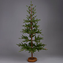 Buy John Lewis Woodland Christmas Tree, Green, 6ft Online at johnlewis.com