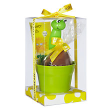 Buy Cocoa Bean Company Potting Chocolate Egg With Seeds, 120g Online at johnlewis.com
