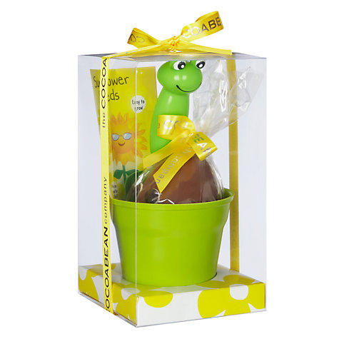 Buy Cocoabean Company Potting Chocolate Egg With Seeds, 120g Online at johnlewis.com